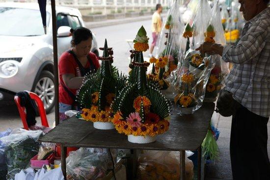 Pak Khlong Talat (Flower Market) : Цветы