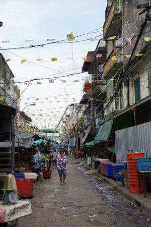 Pak Khlong Talat (Flower Market) : Общий вид