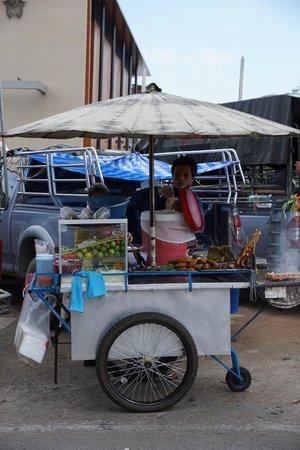 Pak Khlong Talat (Flower Market) : Фаст фуд