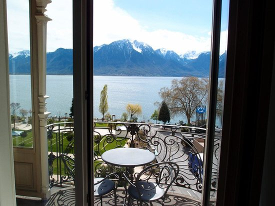 Fairmont Le Montreux Palace: Best place to have breakfast