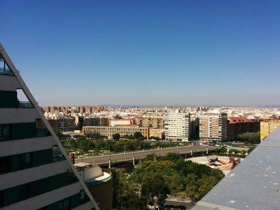 Hotel Alameda Plaza : Vue du toit
