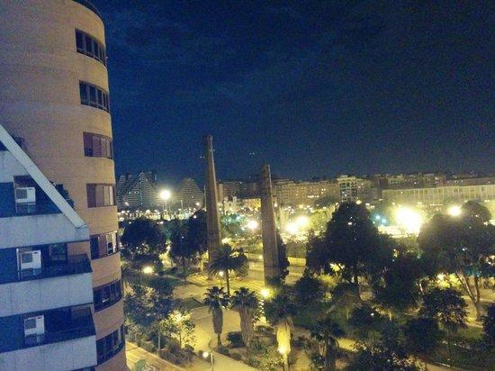Hotel Alameda Plaza : Vue du 5 ème
