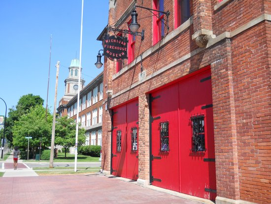 Michigan Firehouse Museum : Old Fire Station