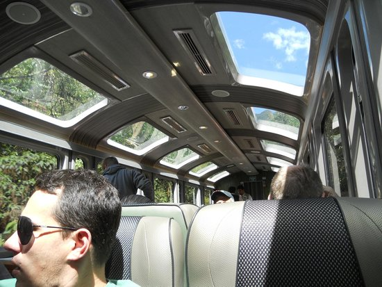 Santuario Histórico de Machu Picchu: Trem com vista panorâmica