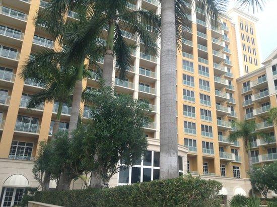 The Ritz-Carlton Key Biscayne, Miami: hotel view