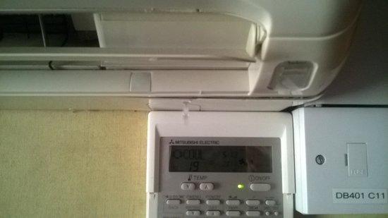 London Premier Kensington: Air conditioning started leaking