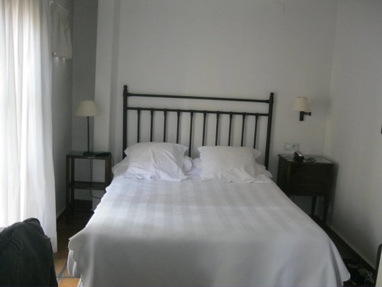 Hotel Palacio de Los Navas : Schlafbereich