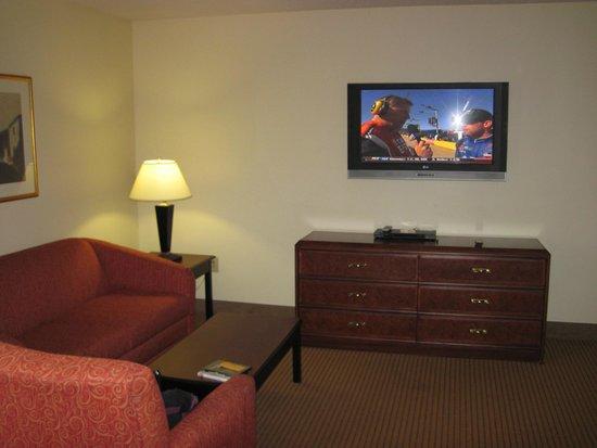 Ashley Quarters Hotel: tv watching area