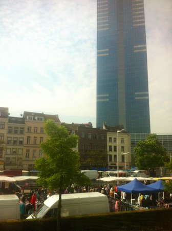 Mercure Brussels Centre Midi: View from the wndow
