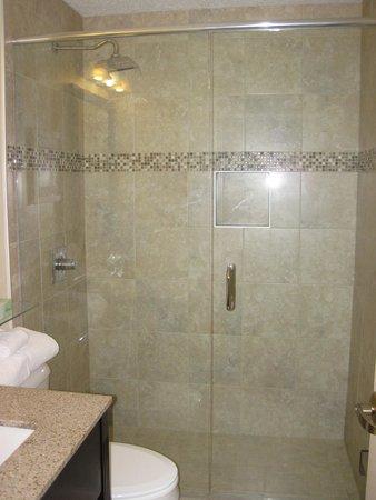 Ashley Quarters Hotel: Great Shower