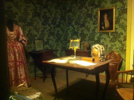 Teatermuseet i Hofteatret: Dressing room
