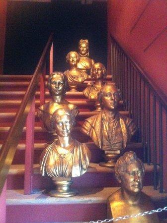 Teatermuseet i Hofteatret: Heads