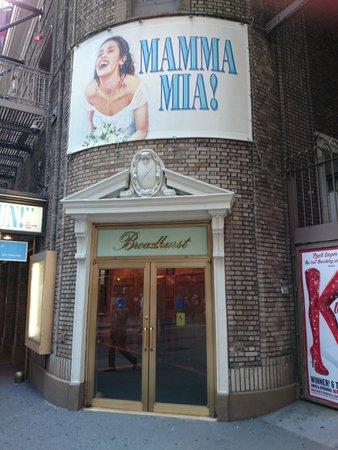 Mamma Mia! on Broadway: The Broadhurst Theatre