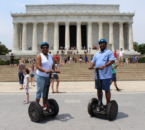 Private DC Segway Tours : Lincoln Memorial