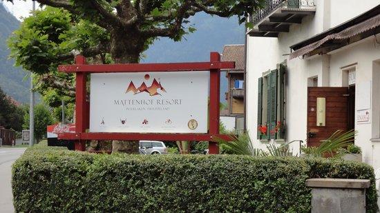 The Park-Garden Hotel at Mattenhof Resort: hotel board