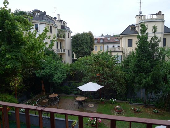Hotel Fiera Congressi: Вид с балкона нашего номера