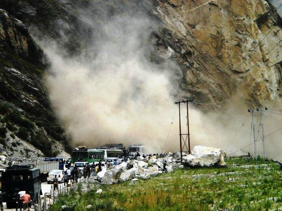 Kinner Camp Sangla: Be prepared to get stranded in a landslide on way to Sangla