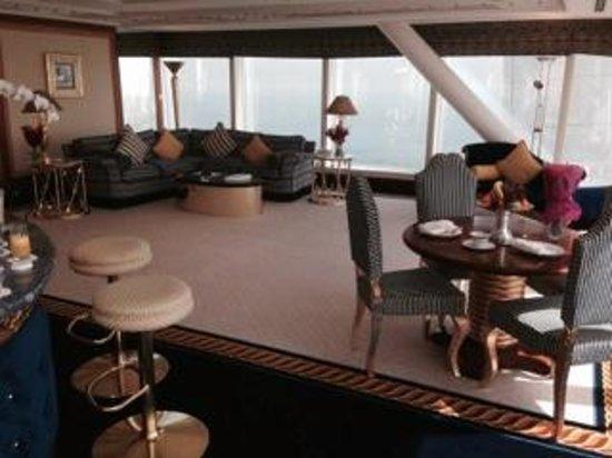 Burj Al Arab Jumeirah : Sitting Area