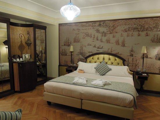 Grand Hotel Savoia: 素敵な部屋でした