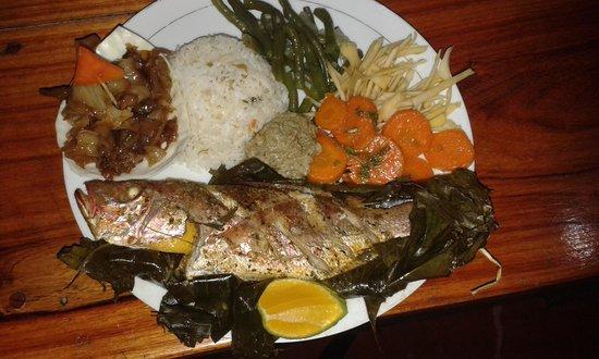 Soda Golfo Dulce: What a plate :)))))