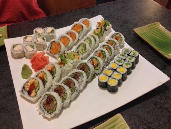 Fuji Japanese Restaurant: Great presentation and the value for the amount of food you get is excellent