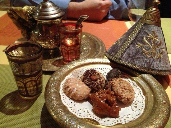 Al-Medina: Pastelitos de postre