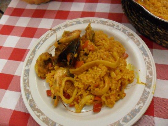 Xaica Restaurant : Paella