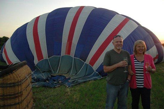 Kent Ballooning: cheers