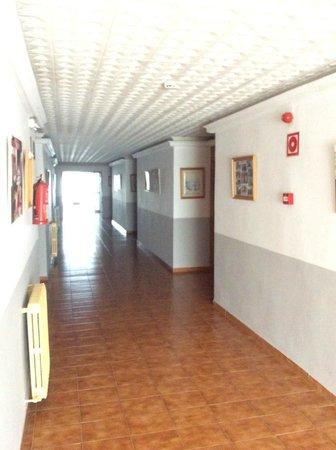 Playa Blanca Hotel : Hotel corridor