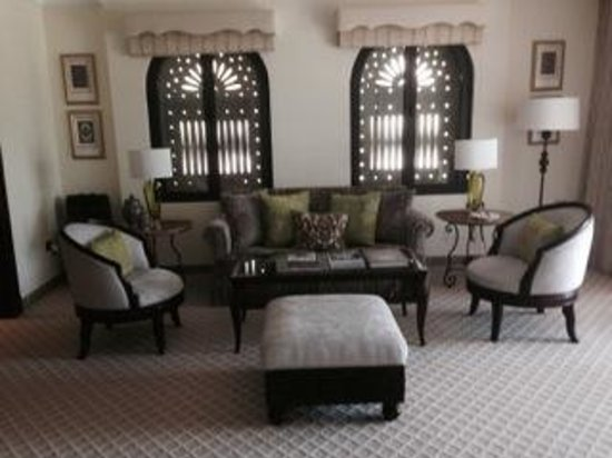 Residence & Spa at One&Only Royal Mirage Dubai: Sitting Area