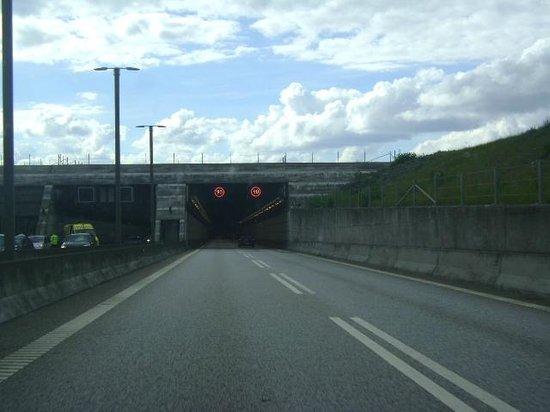Puente de Oresund, Copenhague, Dinamarca.