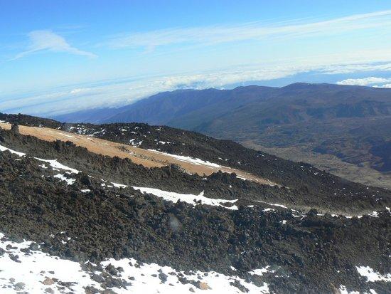 Volcan El Teide : Вид со смотровой площадки Вулкана Тейде
