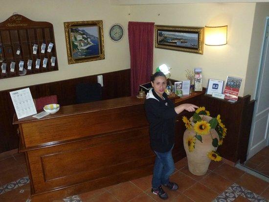 Hotel Mediterraneo*** Siracusa: Fabiana, esas personas que te hacen sentir bien lejos de tu lugar!