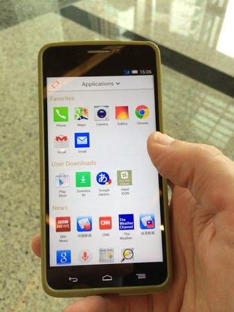 Hotel ICON : Guest smartphone