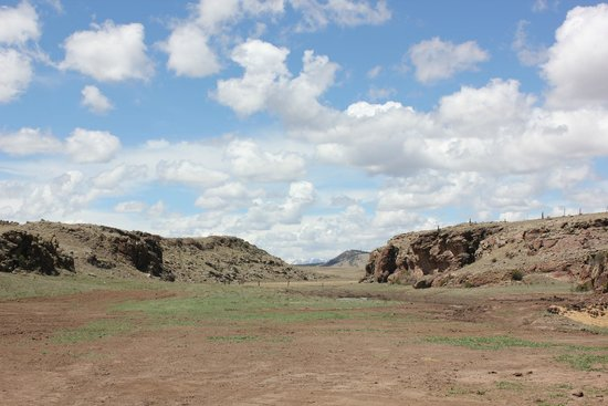 Badger Creek Ranch: auf der Ranch