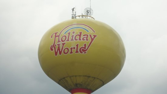 Holiday World & Splashin' Safari: you can see this from the Interstate