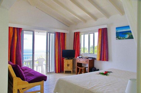 Le P'tit Morne Hotel: La Chambre