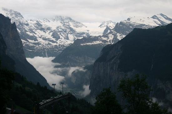 Hotel Silberhorn: another photo from our room