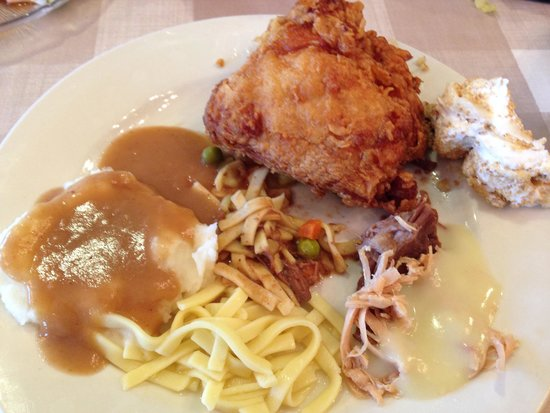 Der Dutchman Restaurant: My food :)