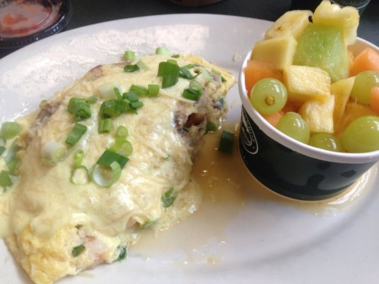 Crab Omelet - REALLY GOOD!