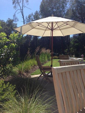 Calistoga Ranch, An Auberge Resort: beautiful landscaping around pool