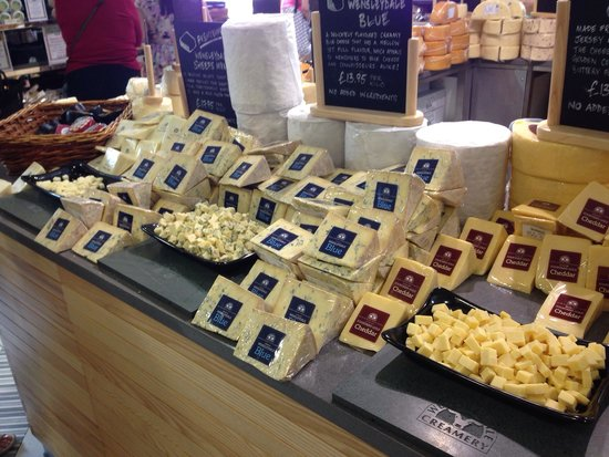 Wensleydale Creamery : Cheese cheese and more cheese