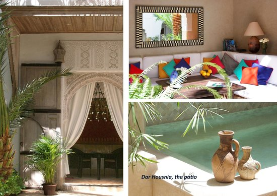 Dar Housnia: Le patio du riad