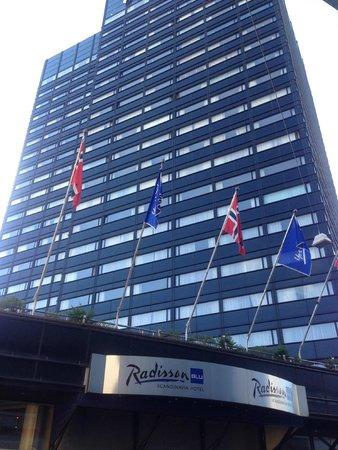 Radisson Blu Scandinavia Hotel : Здание отеля