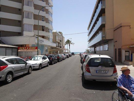 Hotel Helios Mallorca : Вид на море от отеля