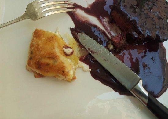 Taverna La Fenice: Filet de boeuf   sauce au vin