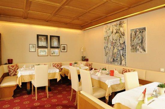 Hotel Gartenresidence Zea Curtis: Frühstücksraum