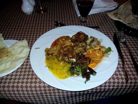 Sangam Hotel, Trichy: Almuerzo