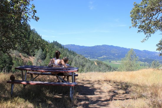 Calistoga Ranch, An Auberge Resort: view from a short hike