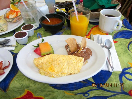 Fredys Tucan: Omelet con queso